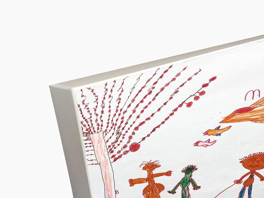 3D Malkarton für Kinder