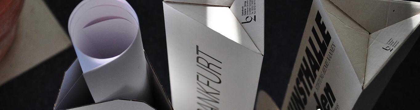 Edle Verpackung für Kunstplakate