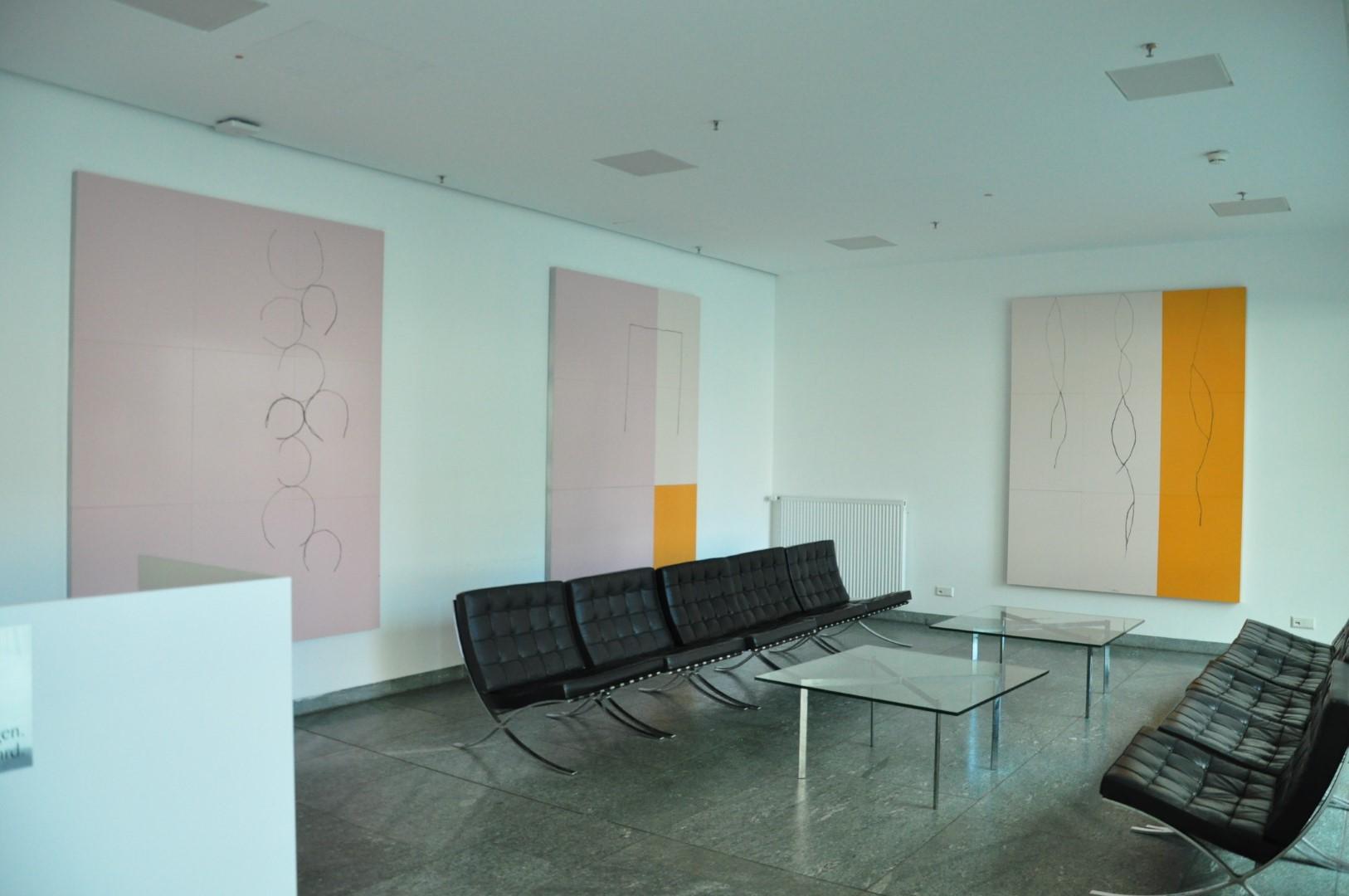 Foto Ausstellungsraum Partenheimer Dreiklang