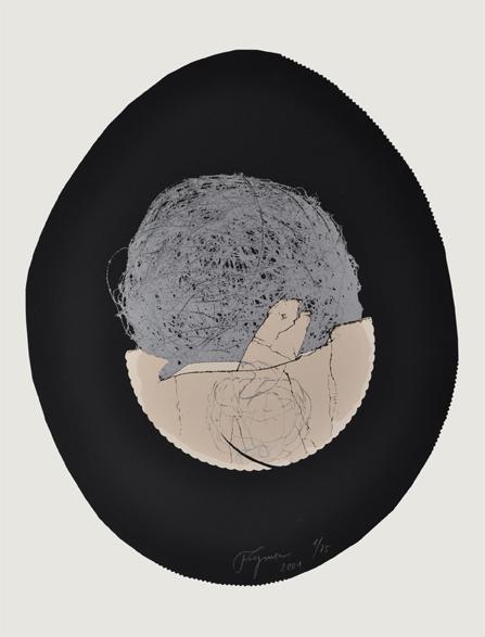 Felix Droese Serigraphie Eine gewisse Kunstlosigkeit