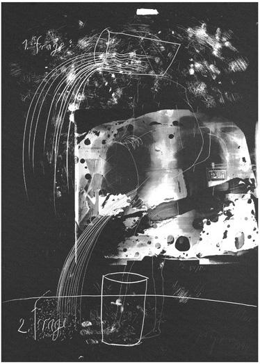 Serigraphie von Felix Droese in der Wattenmeermappe
