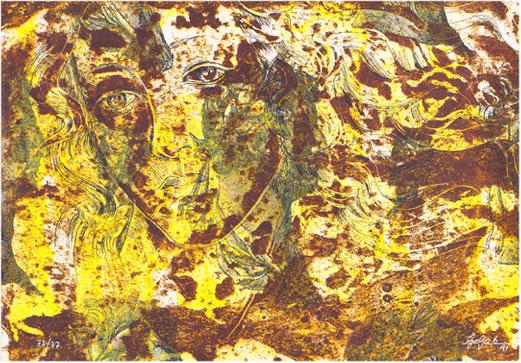 Georg Gartz Serigraphie 1991