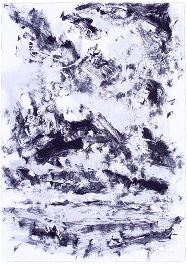 Serigraphie von Oliver Jordan in der Wattenmeermappe