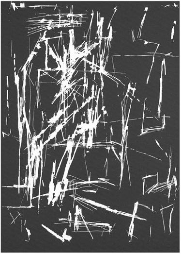 Serigraphie von Erich Reusch in der Wattenmeermappe