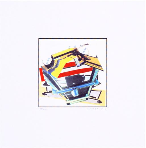 Hans Salentin Serigraphie 1992