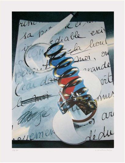 Hans Salentin Serigraphie