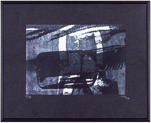 Udo Thurz Serigraphie 1992